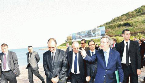 Nador: European Envoy paying a visit to Marchica Project