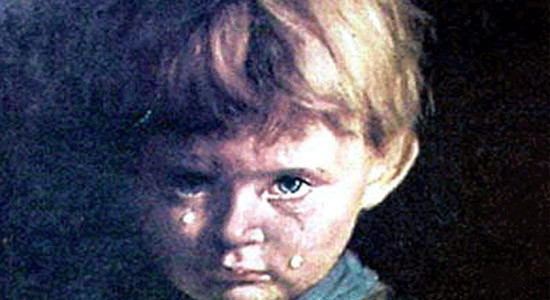 Unexplained Mysteries – The Crying Boy Painting