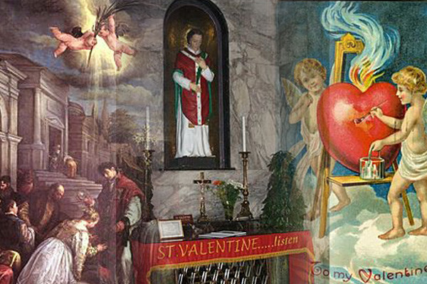 Saint Valentine's day: A quick look back in history