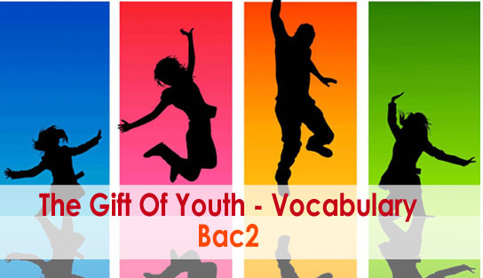 Bac2 : The Gift of Youth – Useful Vocabulary