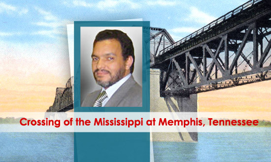 Crossing of the Mississippi at Memphis, Tennessee