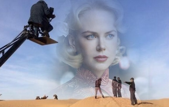 "Ouarzazate:  ""The Queen of Desert"" Filming finished"