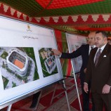 Royal Visit : Inauguration of Sports City project in Tangier