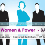 Bac2 : Women and Power – Unit    Your Useful Vocabulary with 27 examples