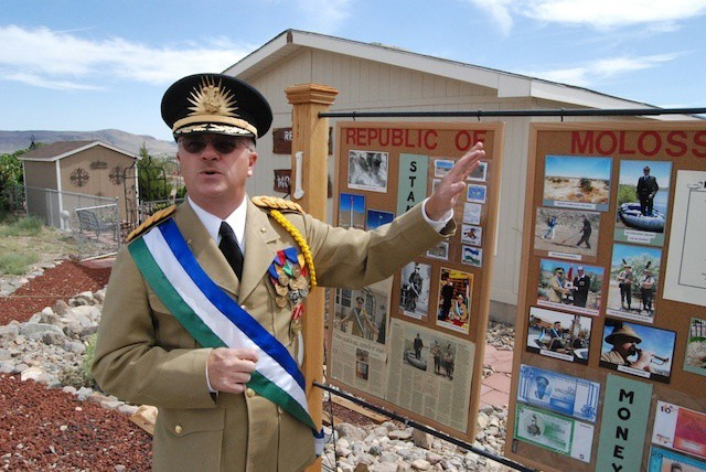 Molossia, Smallest country in the world with 3 people including president!