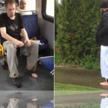 Canada: Barefoot bus passenger shocked by Muslim's shoe donation!