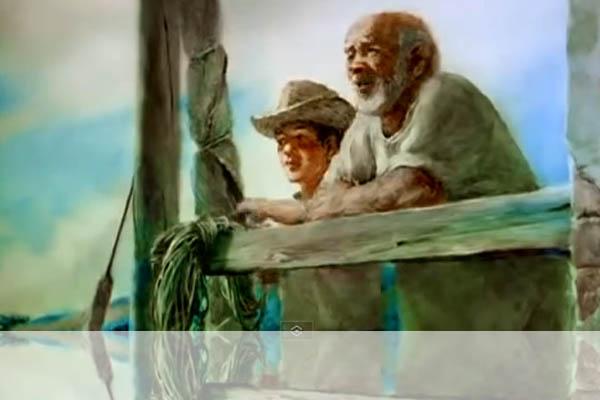 """The Old Man and the Sea"" Novel - Amazing Animated film"