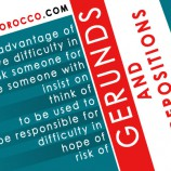 Gerunds & Prepositions