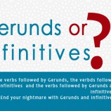 Gerunds & Infinitives  | End your Nightmare !