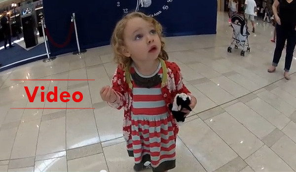 Little American Girl's Reaction When She first heard Adhan ( Call to Prayer)