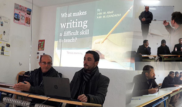 """What Makes Writing Difficult Skill to Teach"", Study Day at Kadi Ayad for Teachers of English"