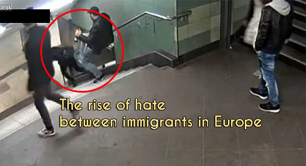 Detention of the guy who brutally kicked the girl in Germany: The rise of hate between immigrants in Europe