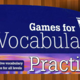 Vocabulary Games Dowlodable PDF book