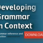 Developing Grammar in Context –