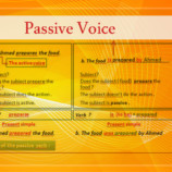 Passive Voice – Ready made PPT