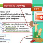 Communication : How to Express and Respond to Apology
