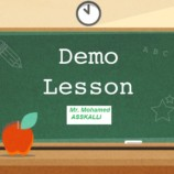 A Demo Lesson Plan  for a  Communicative Grammar  Session: Present Tense ( common Core)