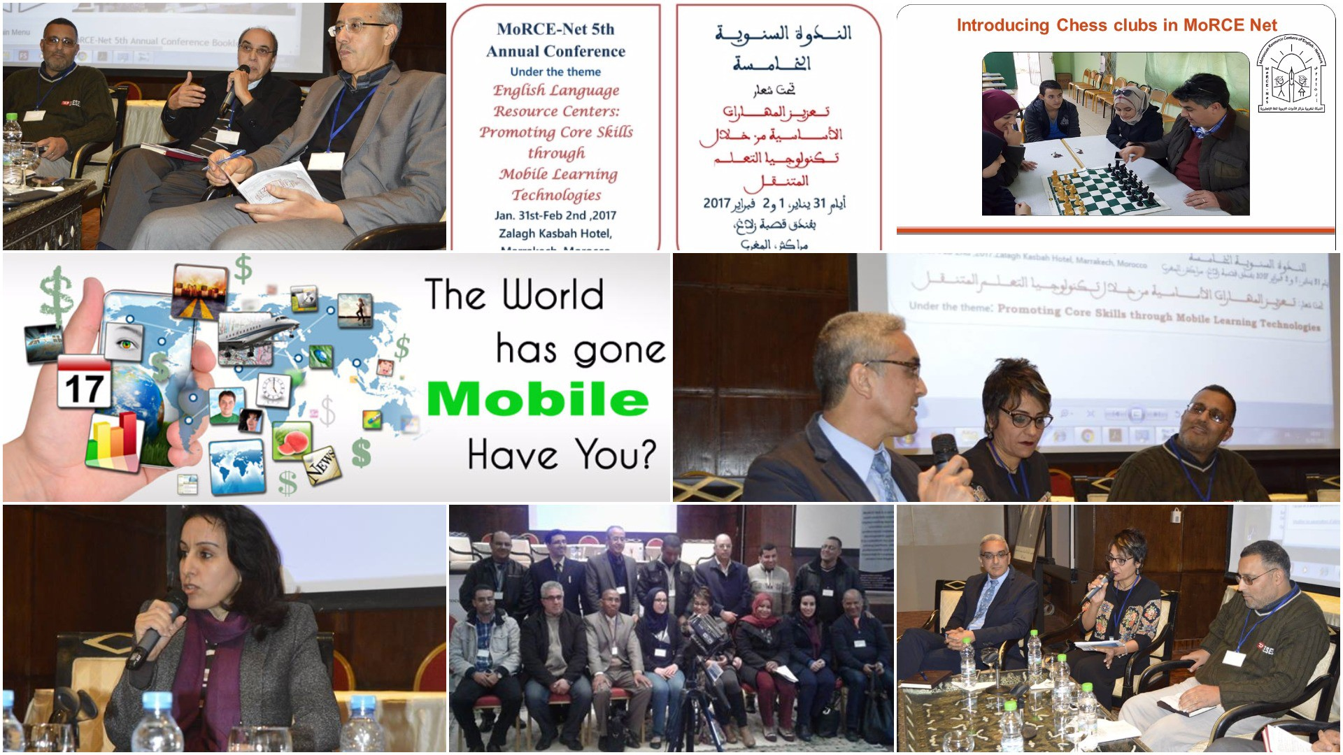 MoRCe-Net 5th Annual Conference Under The Theme English Language Resource Centers: Promoting Core Skills Through Mobile Learning Tech
