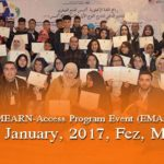 End of MEARN-Access Program Event (EMAPE-FY13) 2017, Fez, Morocco.