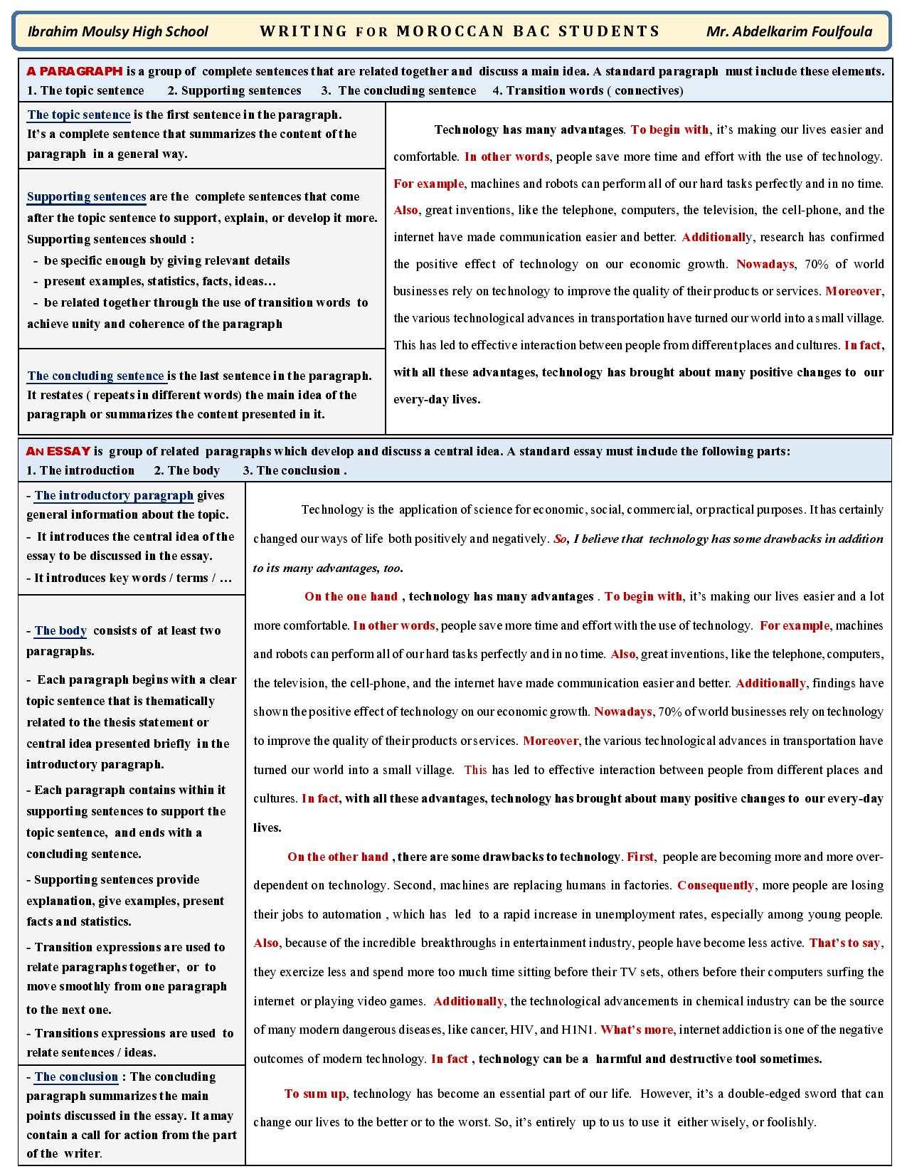 2 bac writing summary reference worksheet page 001 moroccoenglish thecheapjerseys Image collections