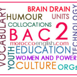 Bac2 : General Vocabulary Review – related to all Units