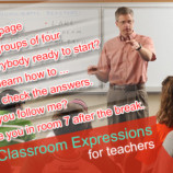 Useful Classroom Expressions for Teachers
