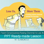 How to Teach Consciousness Raising Grammar to Low Achievers, PPT Ready-made Lesson