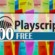 500 Free Playscripts for Young Learners – PART4