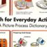 English for Everyday Activities – Picture Process Dictionary