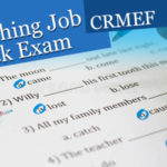 Teaching Job Mock Entrance Exam 2017_ 2018 (CRMEF)