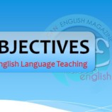 Understanding OBJECTIVES in English Teaching
