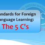 Standards for Foreign Language Learning: The 5 C's