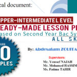 70 Readymade Lesson Plans on all Skills, Supervised by Experts