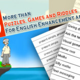 More than 50 Puzzles, Games and Riddles for English Enhancement and Fun.