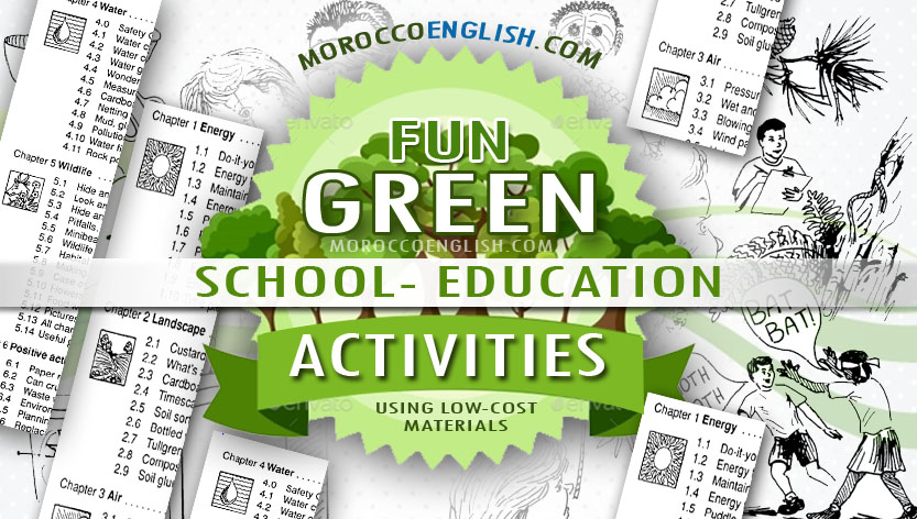 Fun Green School Activities Using Low Cost Materials To Promote Environmental Awareness Among Your Students