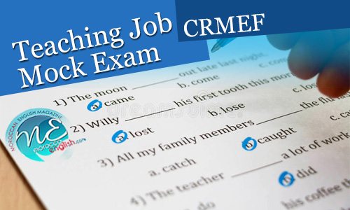 teaching job mock entrance exam 2017  2018  crmef