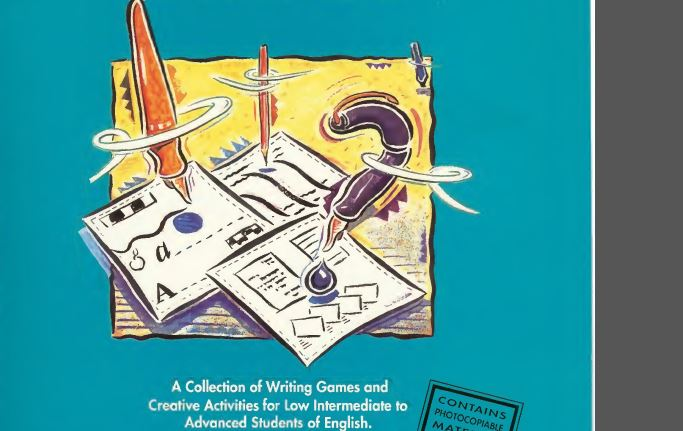 Writing Games for Low Intermediate to Advanced Students of