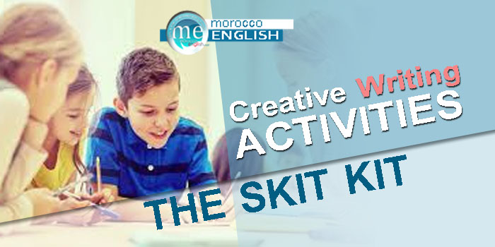 Discover Skit Kit Activity for Creating Stories, Skits and Dialogues