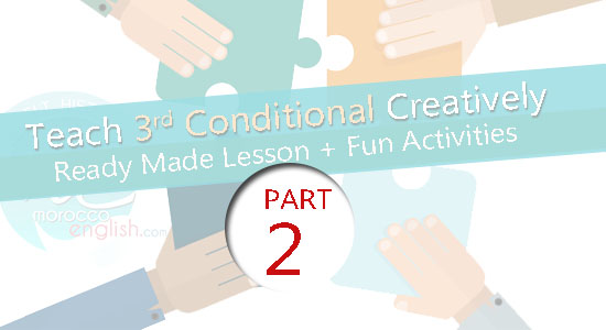 Teach Conditional 3 Creatively with These Fun Activities