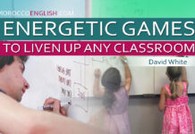 ENERGETIC GAMES TO LIVEN UP ANY CLASSROOM