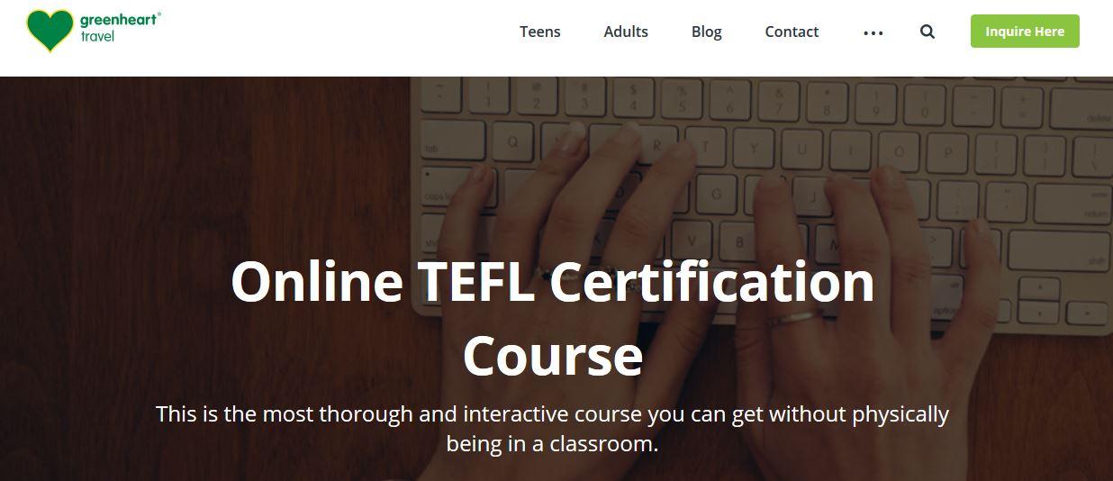Top 10 Online Tefltesol Certificate Programs For 2019 Moroccoenglish
