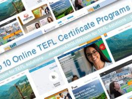 Top 10 Online TEFL/TESOL Certificate Programs for 2019