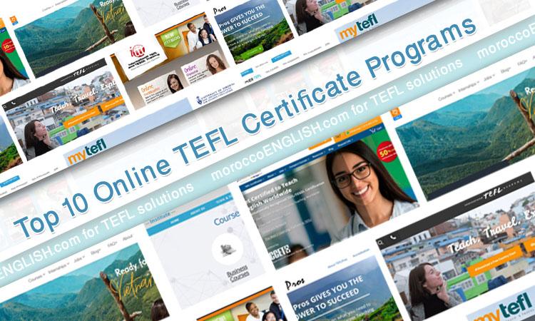 top 10 online tefl  tesol certificate programs for 2019