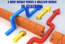 LESSON PLANNING: A DEEP DESIGN VERSUS A SHALLOW DESIGN