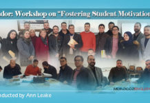 Workshop conducted by Ann Leake on Fostering Student Motivation and Learner-centred Classrooms for teacher of English in Nador, Morocco